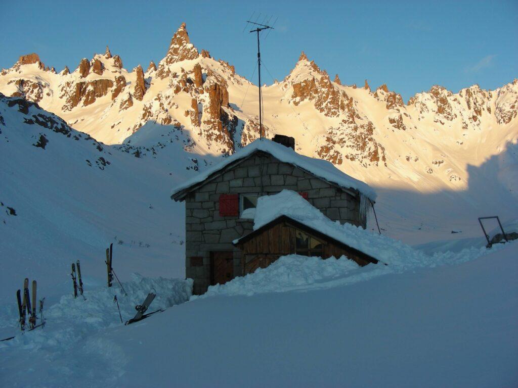 skiing Bariloche Argentina Refugio Frey