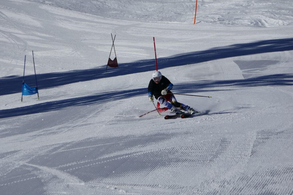 ski race camp Switzerland