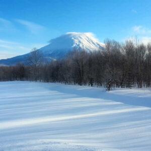 Yotei volcano in Hokkaido