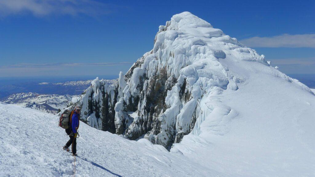Cerro San Lorenzo mountaineering tour