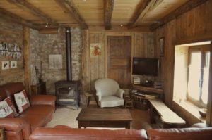 Unsere Skihütte in Vallorcine