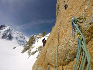 Chamonix day climbing