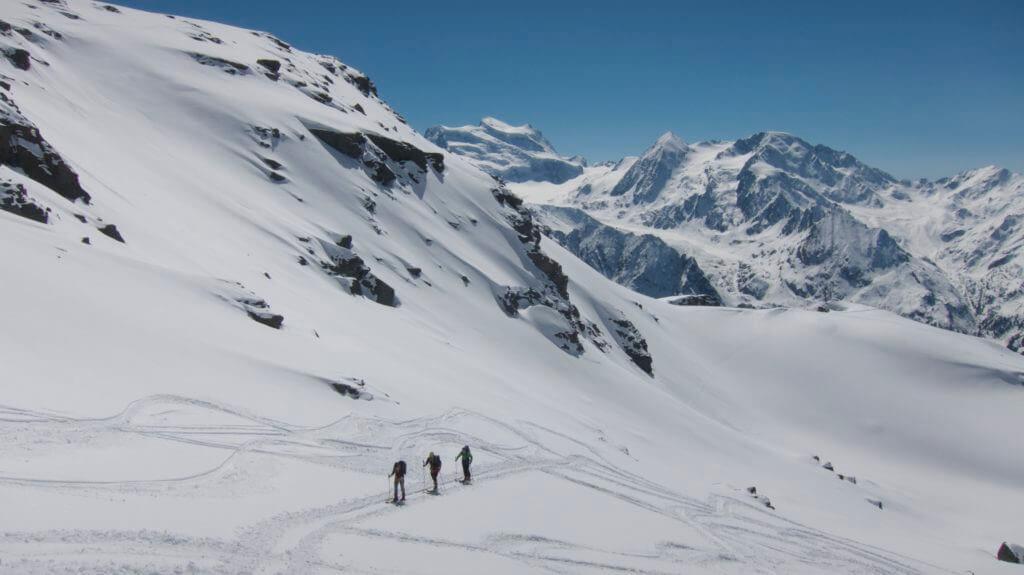 haute route Skitour chamonix to zermatt