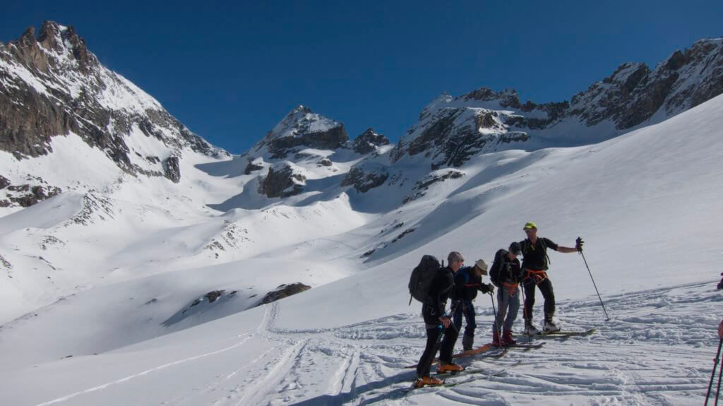 haute route ski tour chamonix to zermatt