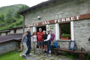 Chalet Frettchen entlang der Tour du Mont Blanc in Italien