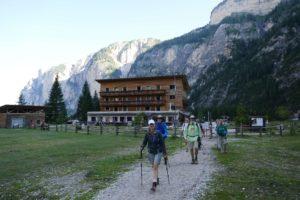 Das Gästehaus Pederü in den Dolomiten