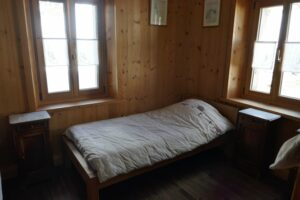 Schlafen in der Zuflucht tre la tete in les Contamines