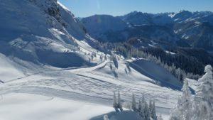ski touring Vallorcine