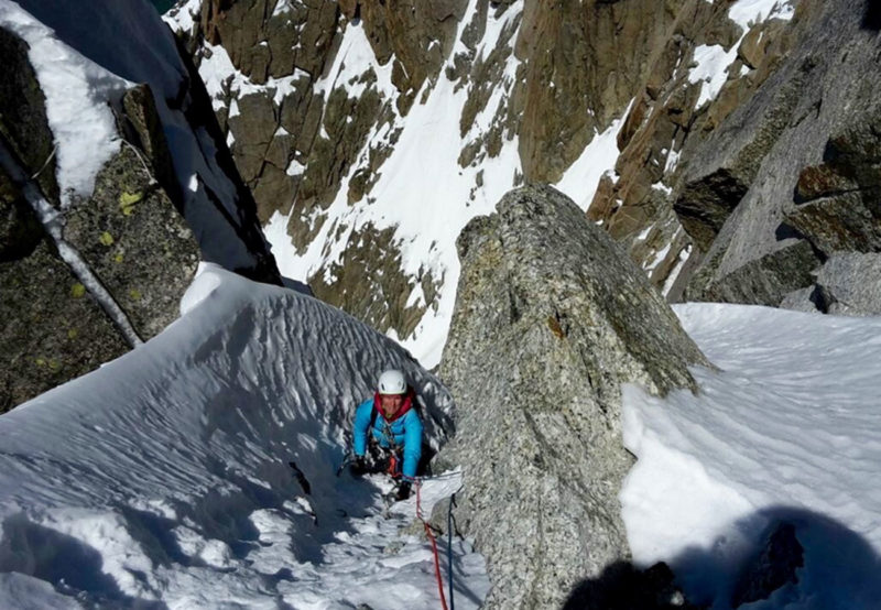 ICE klettern Course in Chamonix mit einem zertifizierten Bergführer