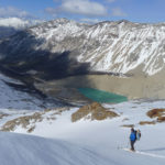 Skiing the Cerro San Lorenzo in southern Patagonia