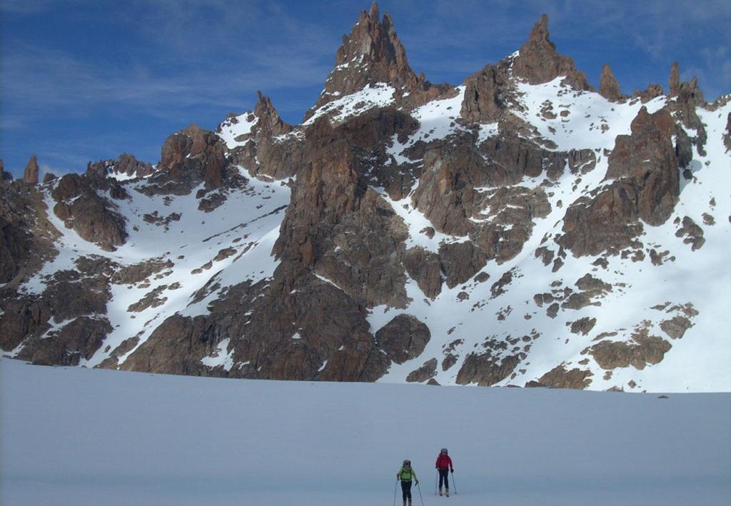 Skitouren Refugio Frey, Bariloche mit Patagoniatiptop