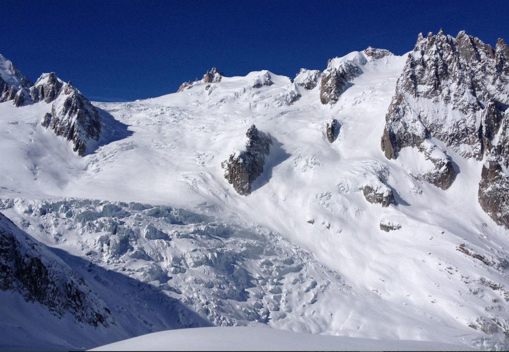 Ski Valee Blanche with Patagoniatiptop
