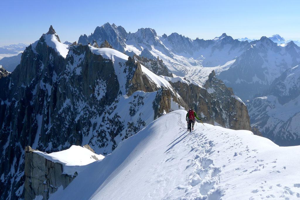 Patagoniatiptop Klettern und Schnee expedition