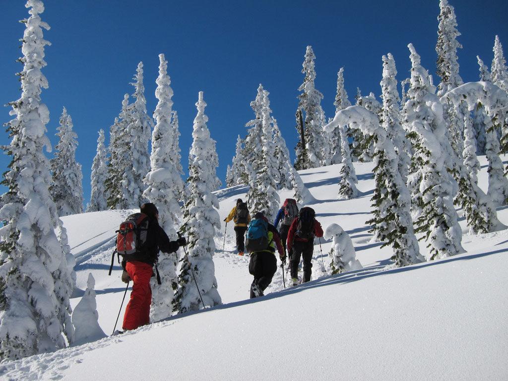 Patagoniatiptop ski touring