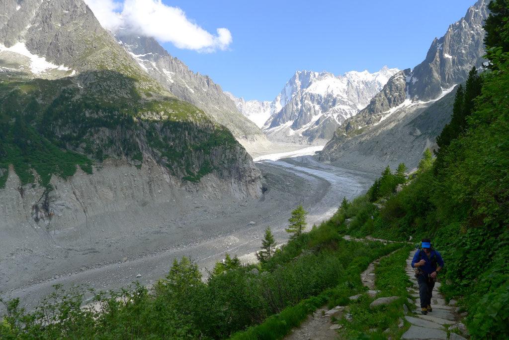 Patagoniatiptop glacial trekking