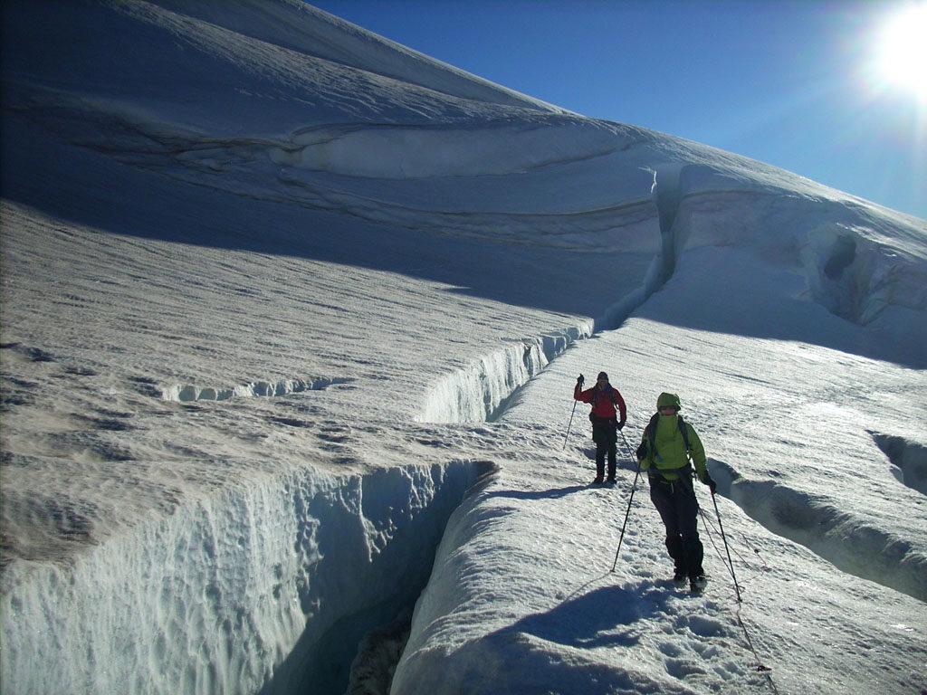 Patagoniatiptop Gletscherbegehung