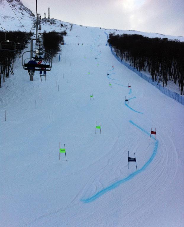 Patagoniatiptop Ski Renntraining