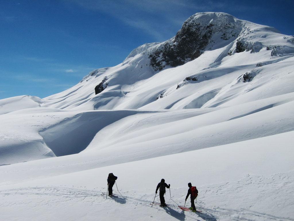 Patagoniatiptop Schnee-Wanderung