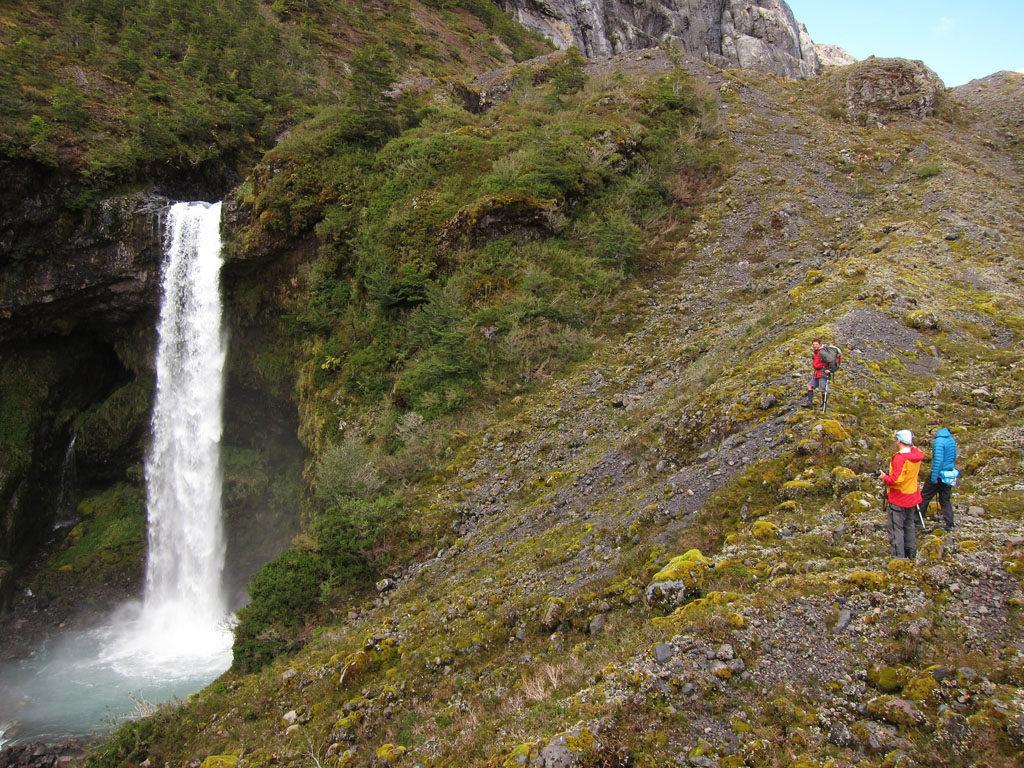 Patagoniatiptop Wasserfall