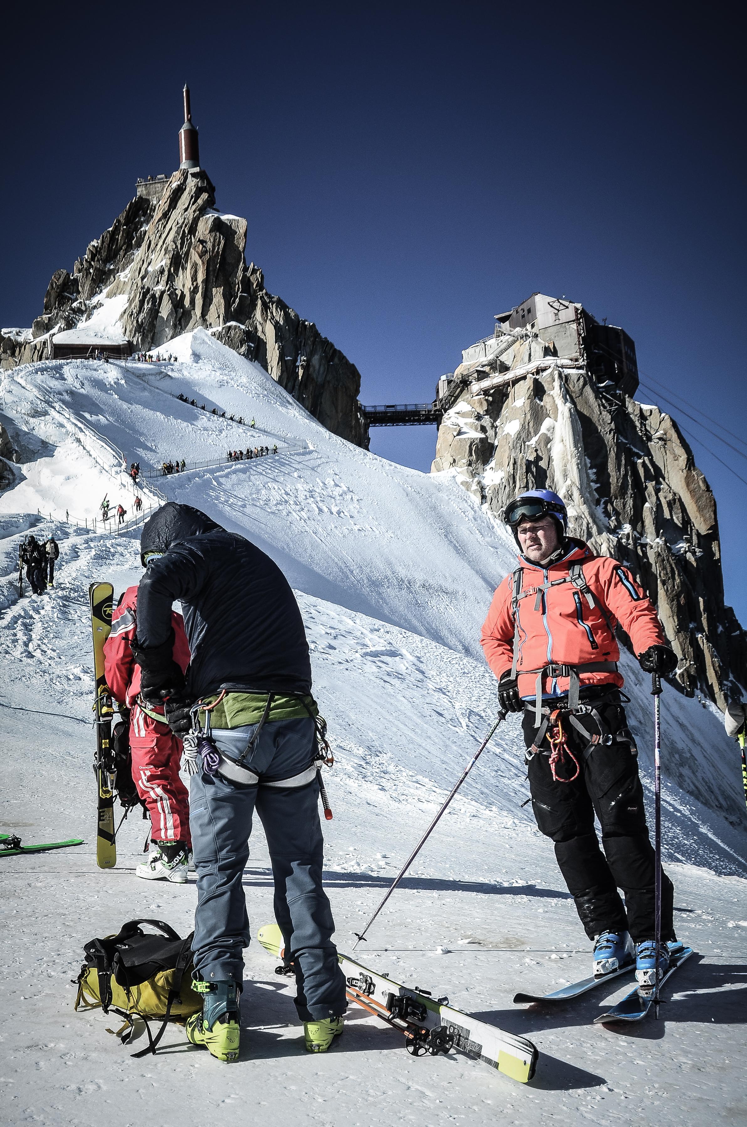 Ferried skiing week Chamonix