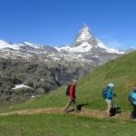 Hiking Swiss Alps, Zermatt  St.Moritz.