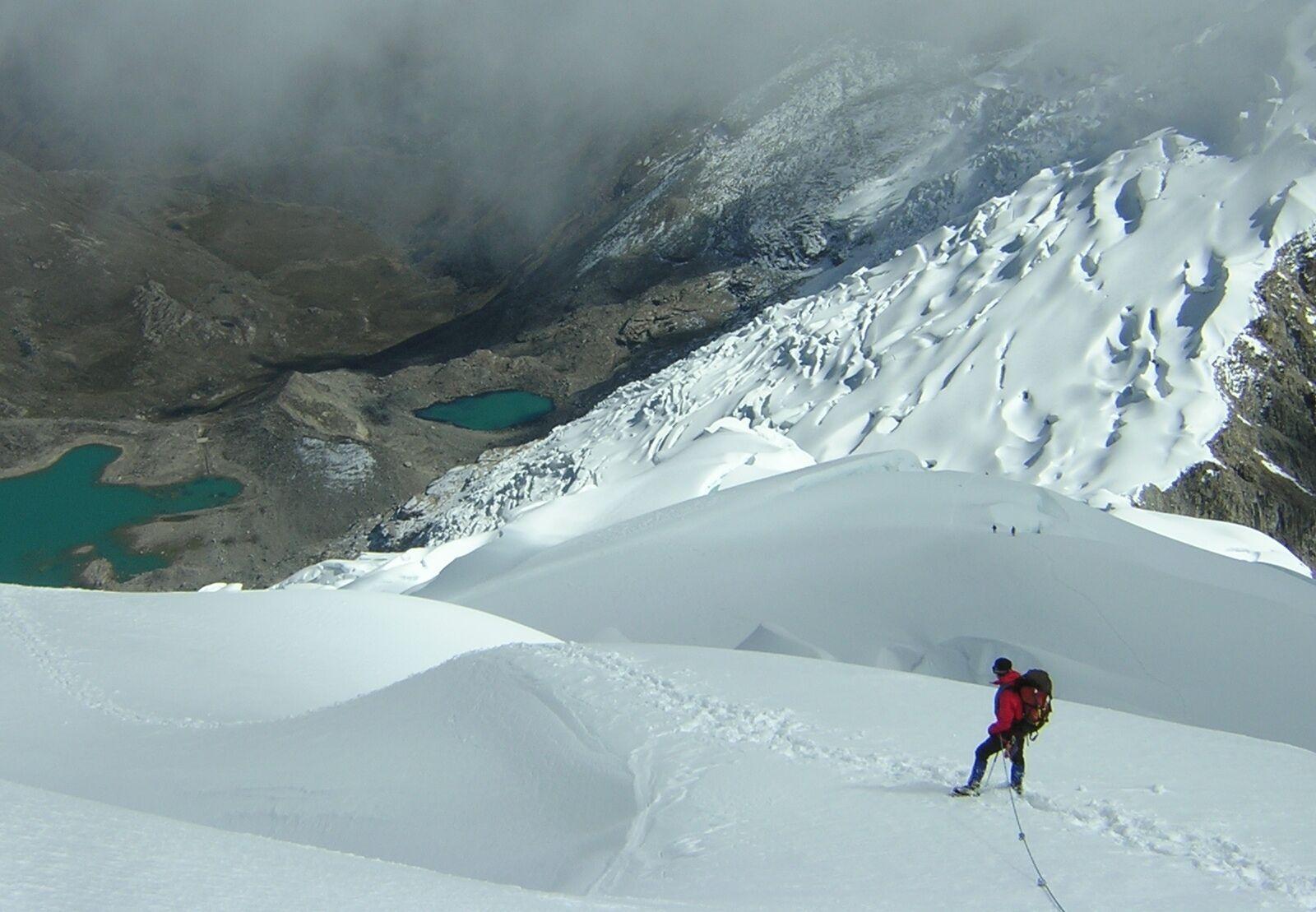 Peruvian Andes, Cordillera Blanca climbing, trekking Peru