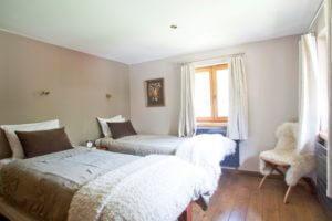 Schlafzimmer für unser Chamonix Weekend Break