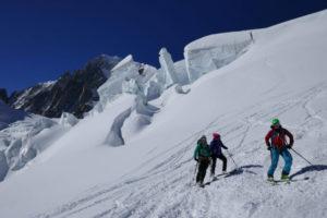 Gratis Ski fahren in Chamonix
