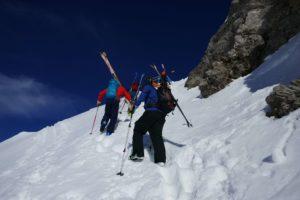 skitouring in chamonix