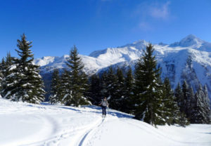 Ski Touring Intro Lektionen in Chamonix