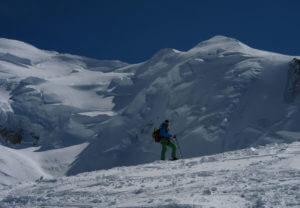 Powder Ski im Mont Blanc