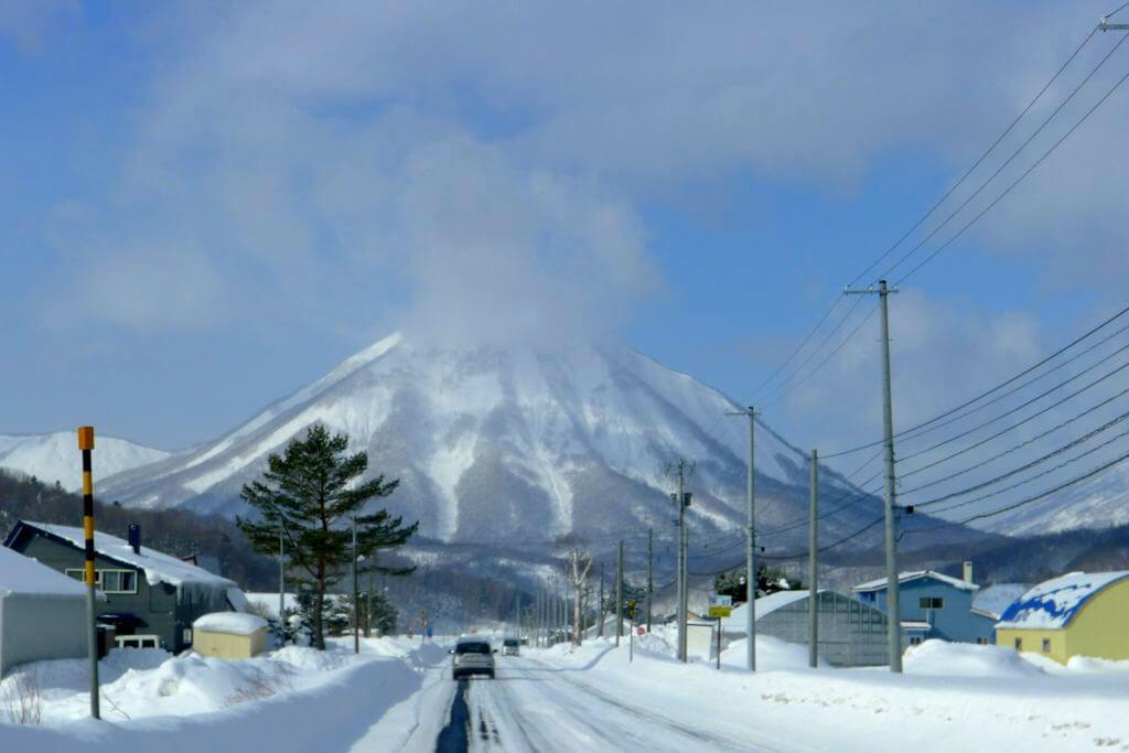 Vulkan shiribetsu in Hokkaido