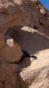 climbing at Refugio frey Bariloche