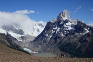 Loma del Pliegue Tumbado hike in El Chalten