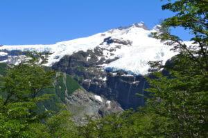 Cerro Tronador mit seinen vielen Gletschern