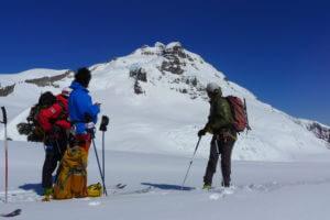 ein perfekter Ski-Tag am Monte trondador