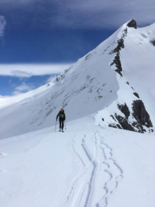 skitouring in el chalten Patagonia