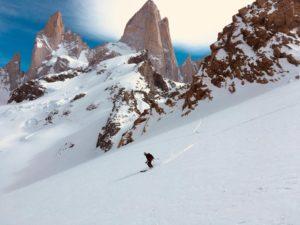 skitouring in el chalten