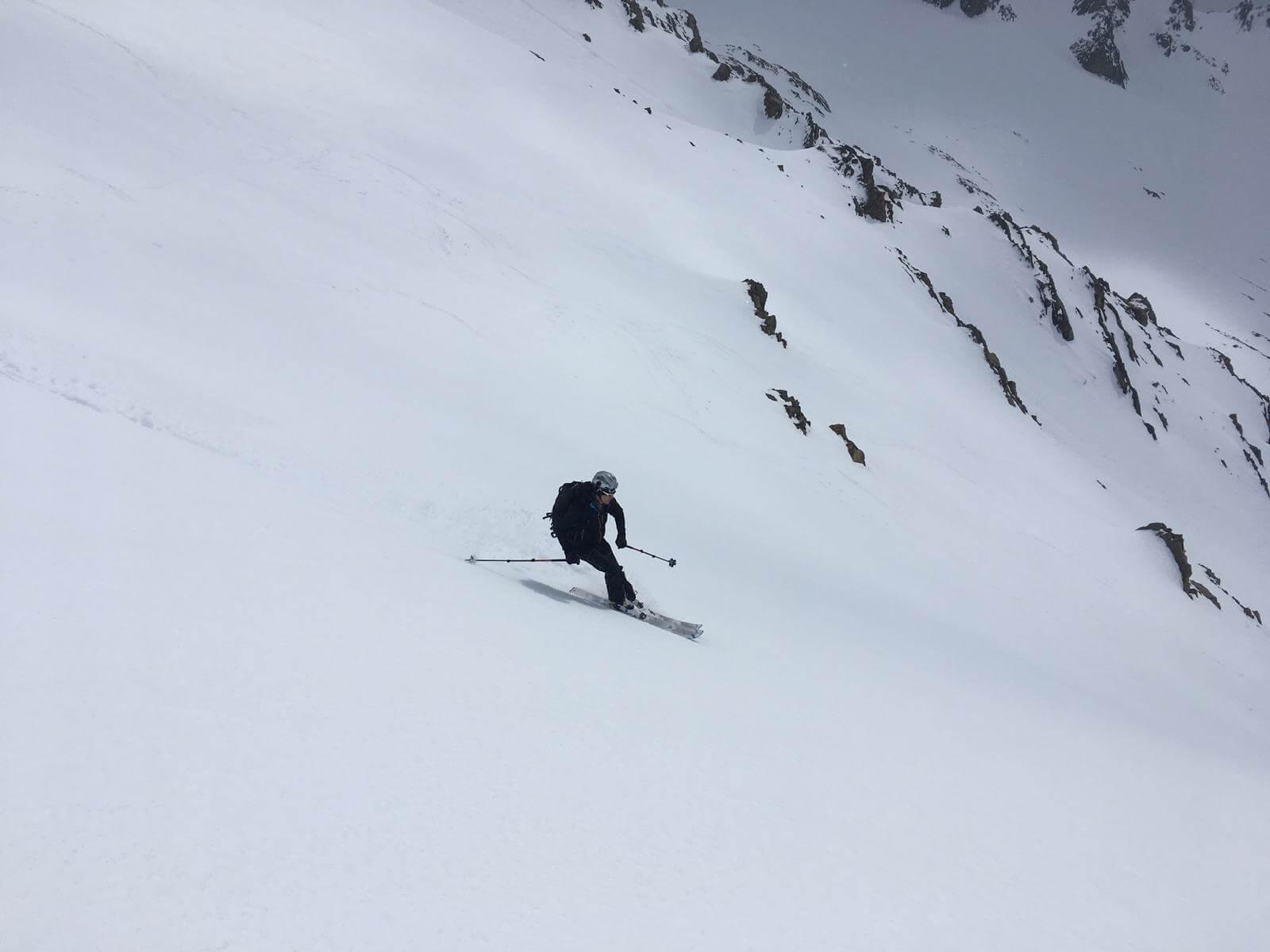 skitouring in el chalten Patagonia argentina