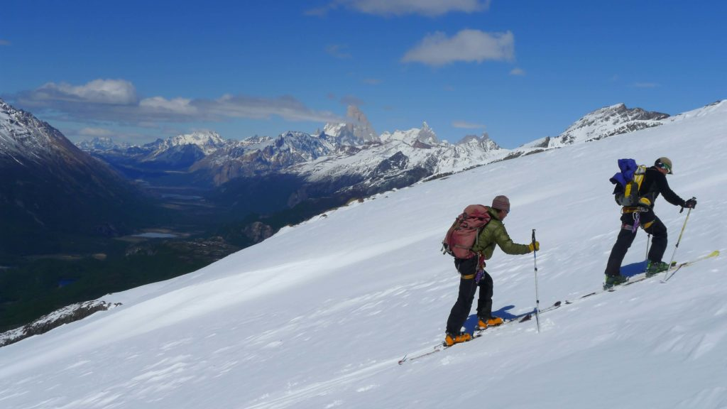 skitouring Patagonia in el Chalten