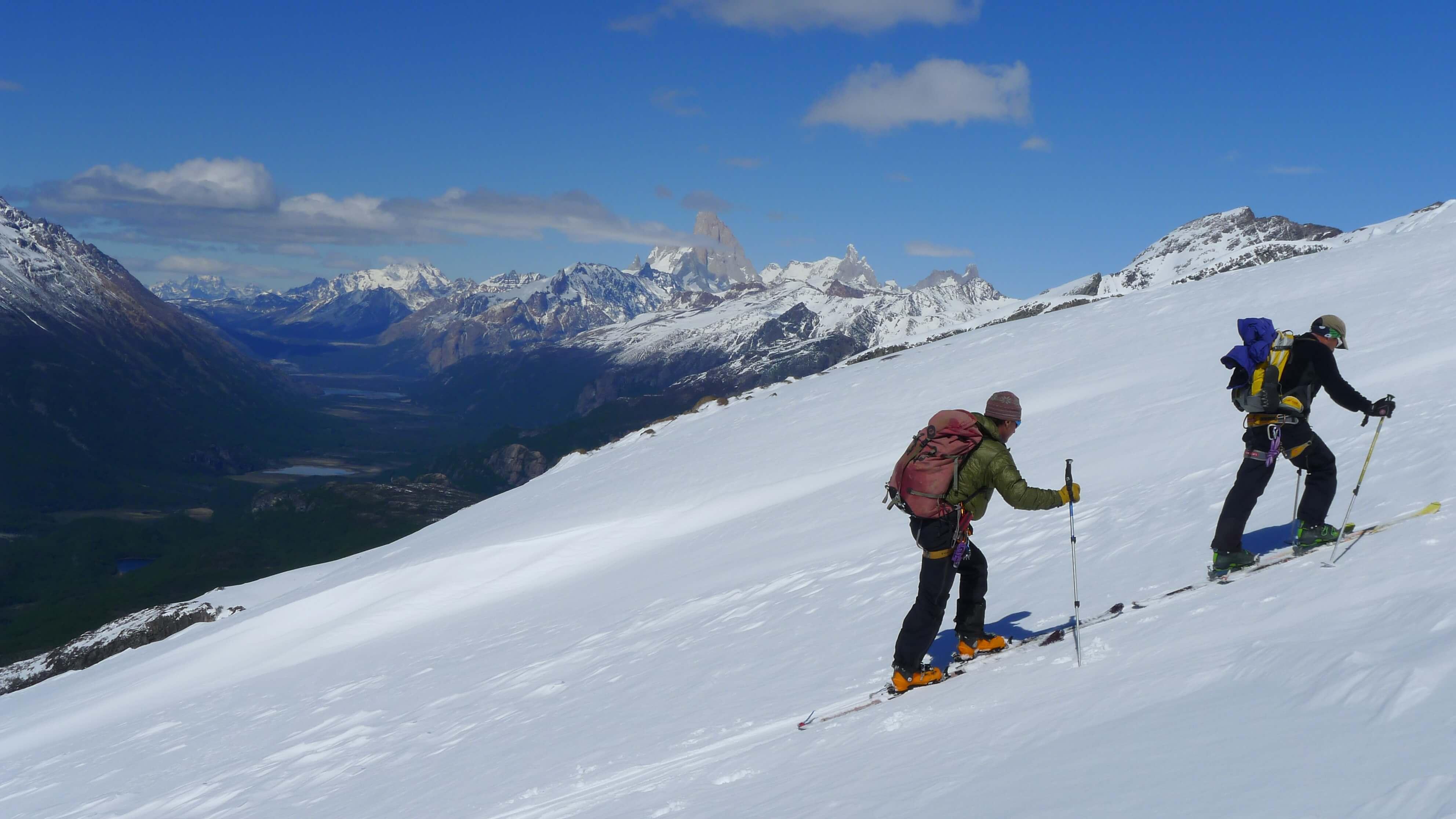 Skitouren Patagonien in El Chalten
