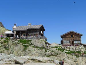 Zufluchtsort Lac Blanc in Chamonix bei einer Tageswanderung