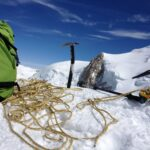 Bergsteigen Schweiz bei Pigne d'Arolla