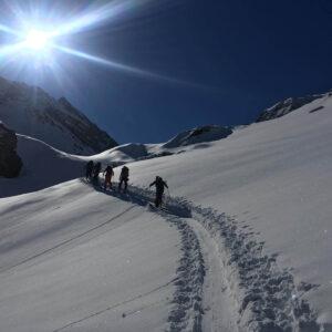 Skitouring Haute Route Chamonix to Zermatt