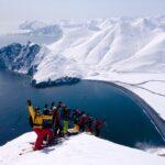 skitouring in Kamchatka