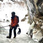 Ice climbing course Cogna