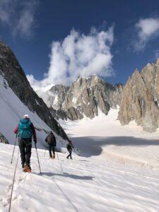Glacier traverse Chamonix