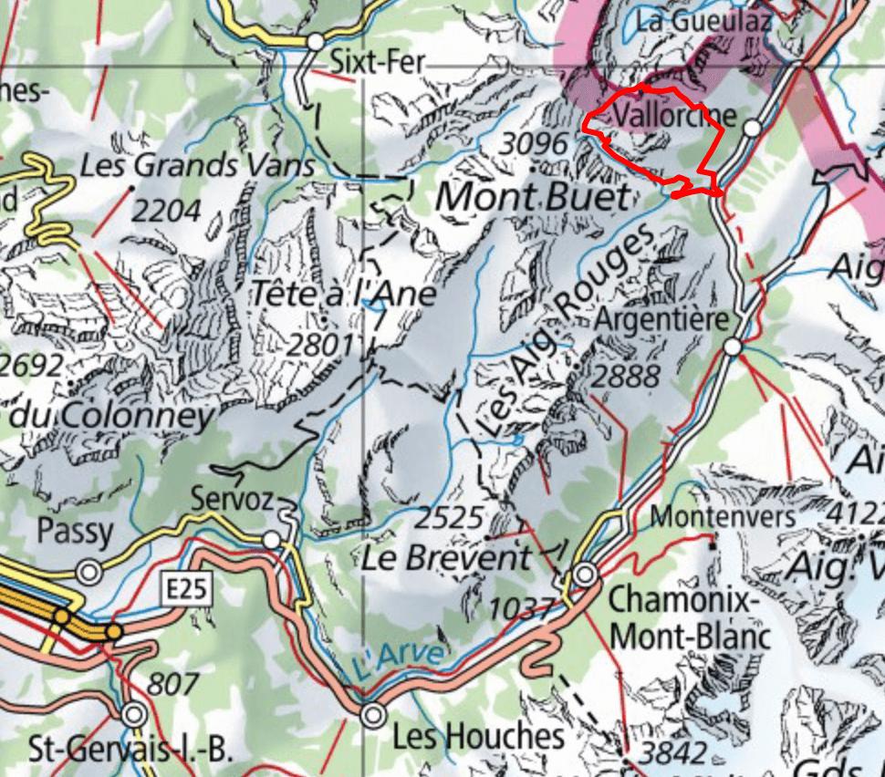 map-tour-de-laiguille-loriaz-camping-tour